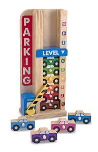 Wooden Cars Stack and Count